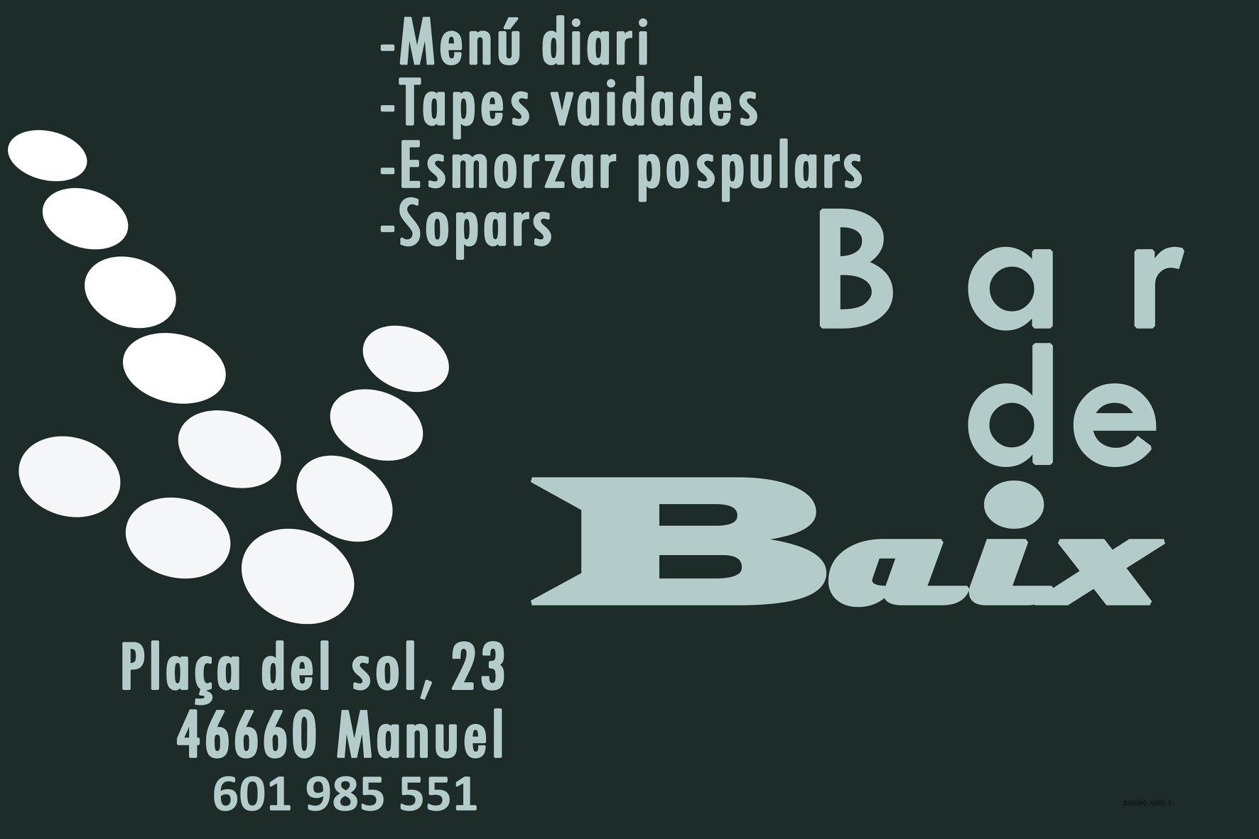 BAR DE BAIX