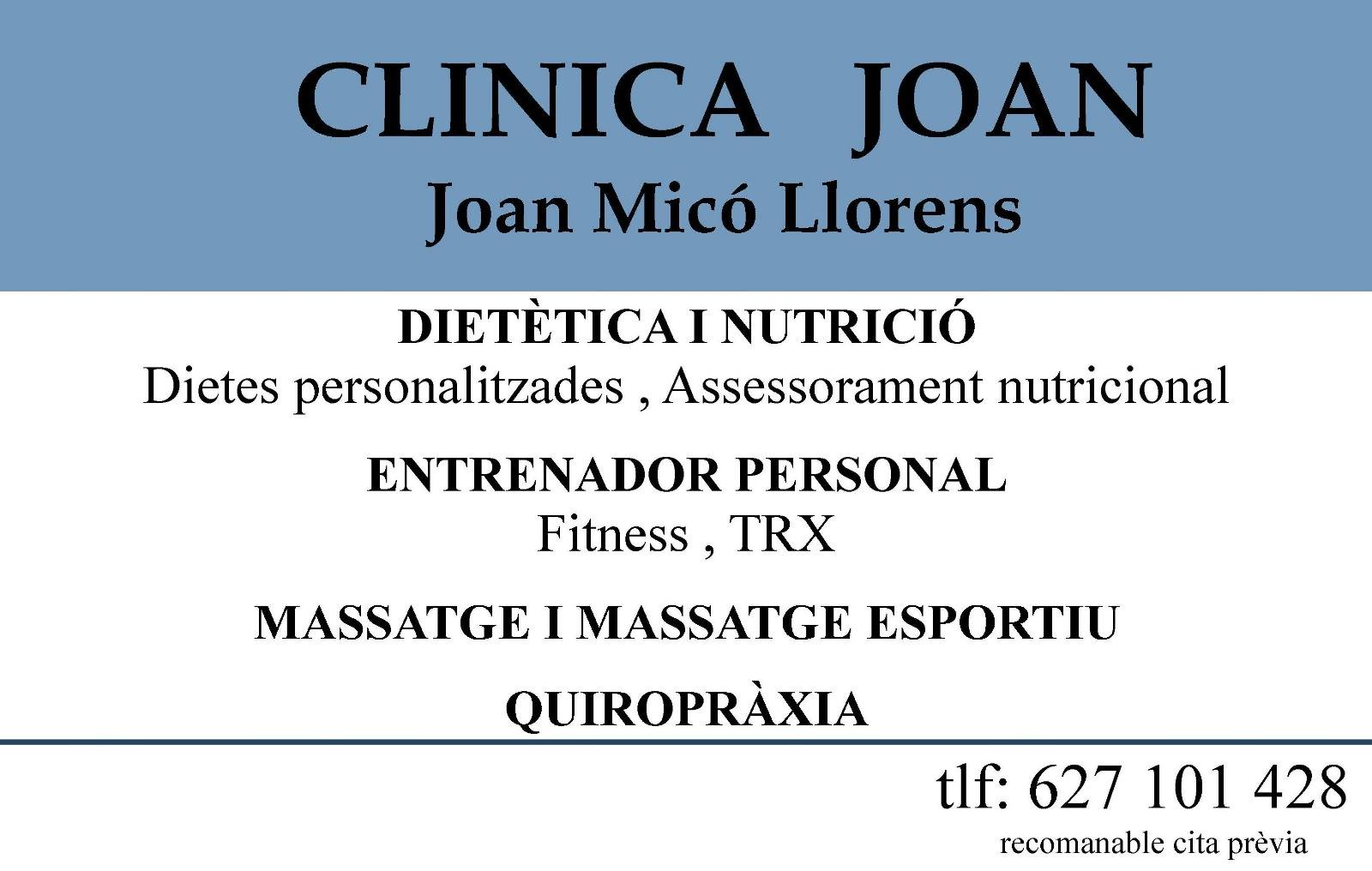 CLINICA JOAN MICO